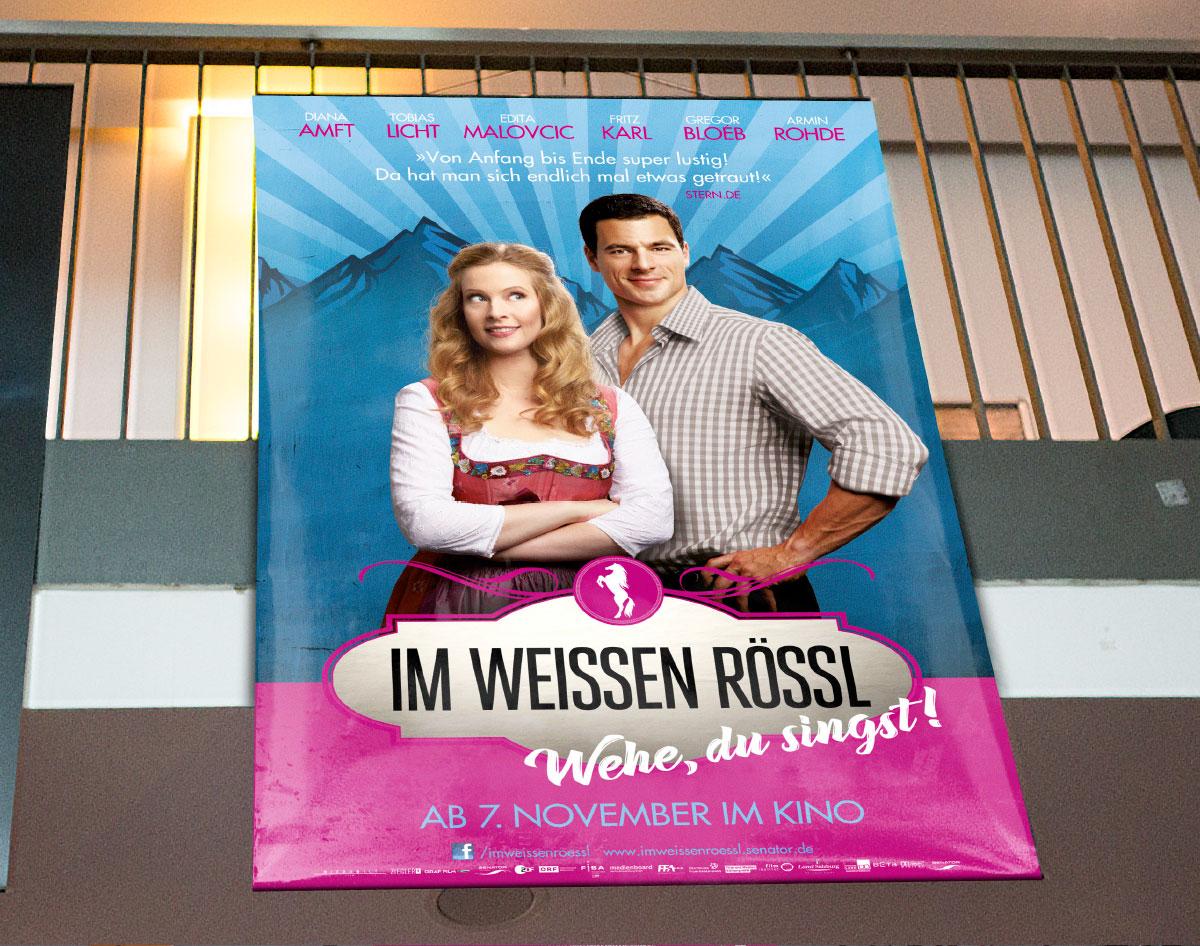 Im Weißen Rössl Film Plakat Senator Grafik Design