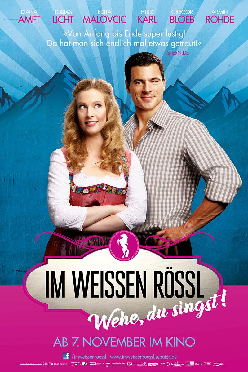 Im Weißen Rössl Film Plakat Senator Grafik Design Affaire Populaire