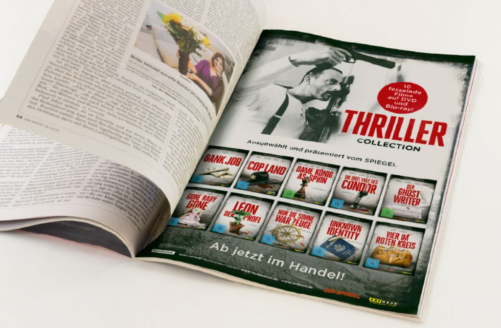 Affaire Populaire Thriller DVD Film Studiocanal Anzeigen