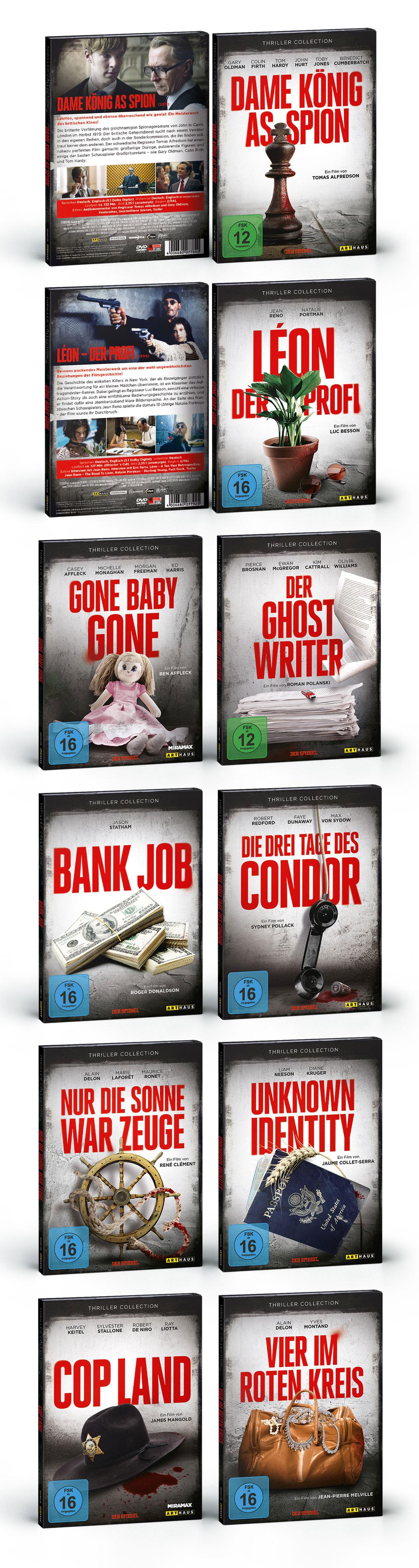 aAffaire Populaire Thriller DVDS FILM Studiocanal