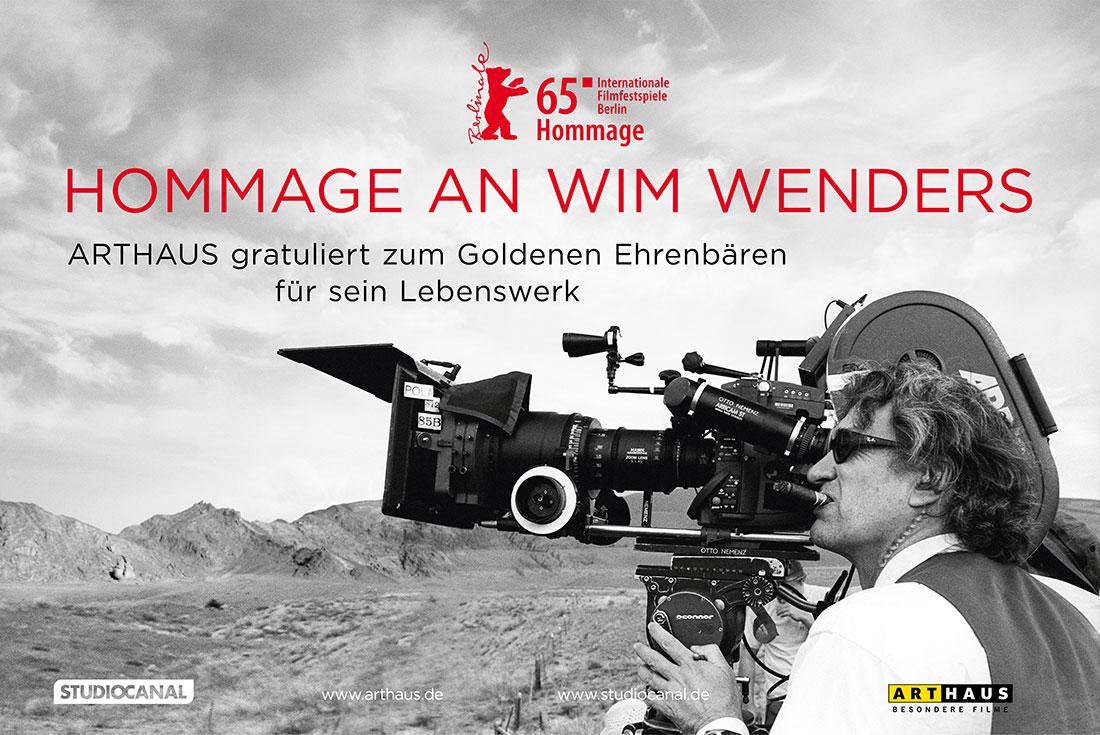 Affaire Populaire Grafik Design Wim Wenders DVD Arthaus