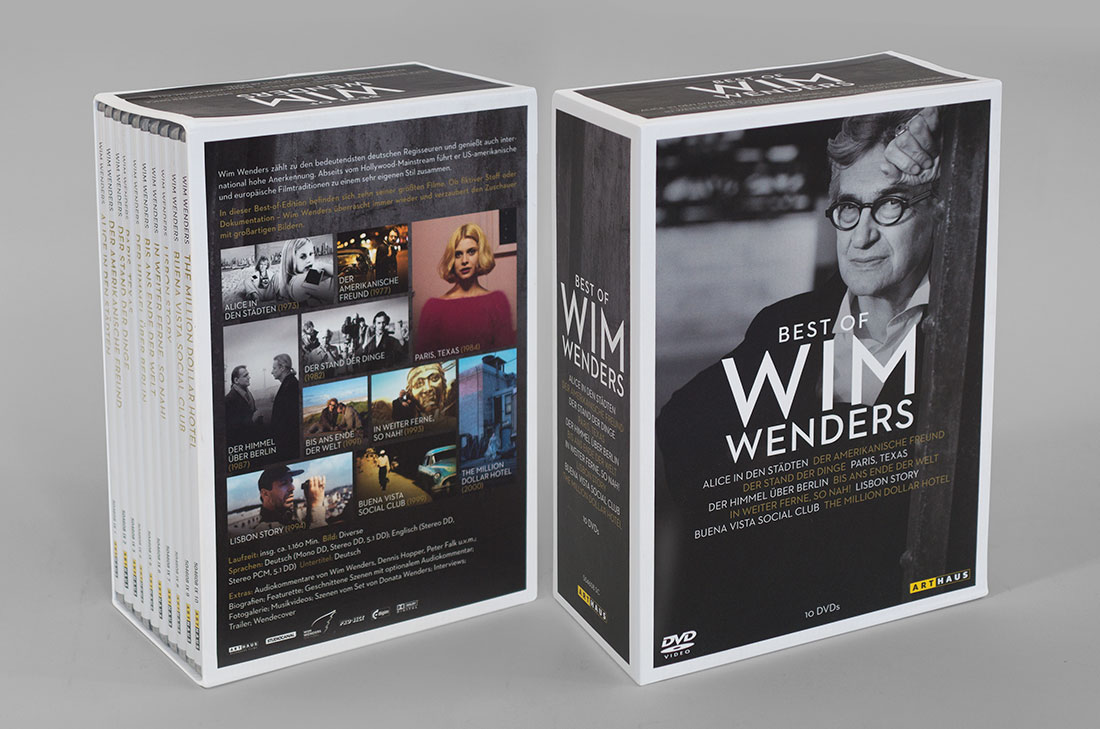 Grafik Arthaus Wim Wenders DVD Cover Box Affaire Populaire