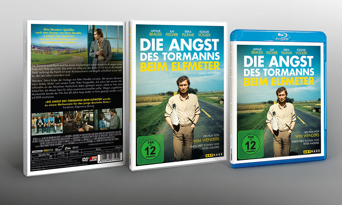 Arthaus Wim Wenders DVD Cover Tormann Affaire Populaire