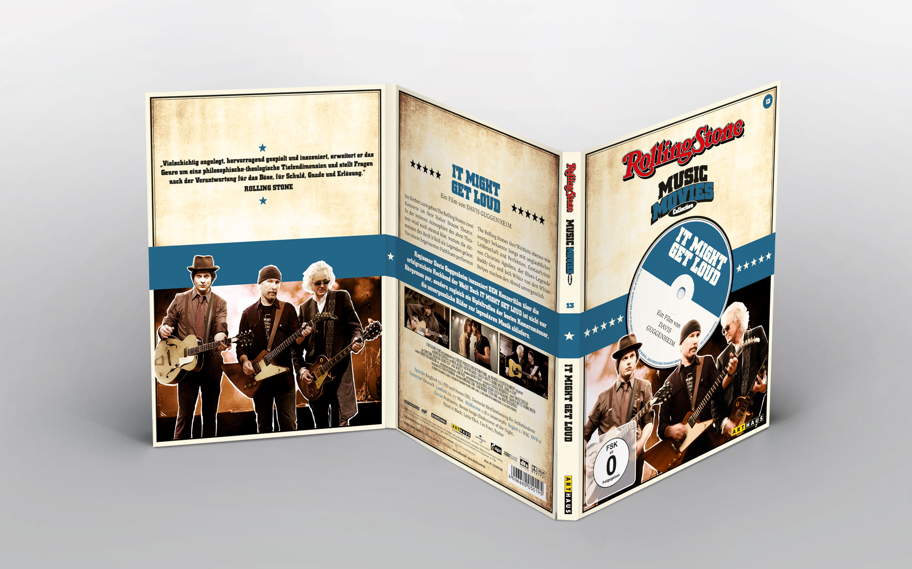 Rolling Stone Music Movies DVD