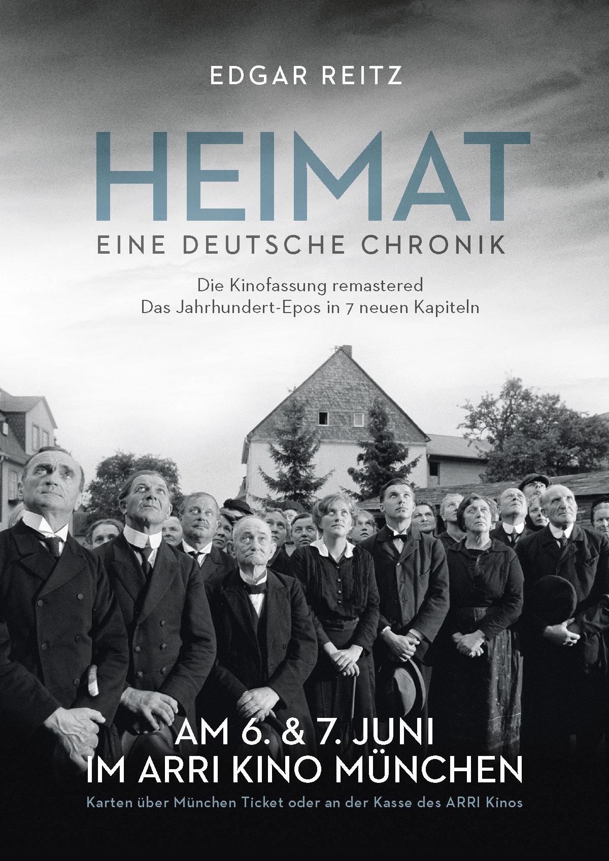 Heimat Edgar Reitz Chronik DVD Plakat Arthaus DVD