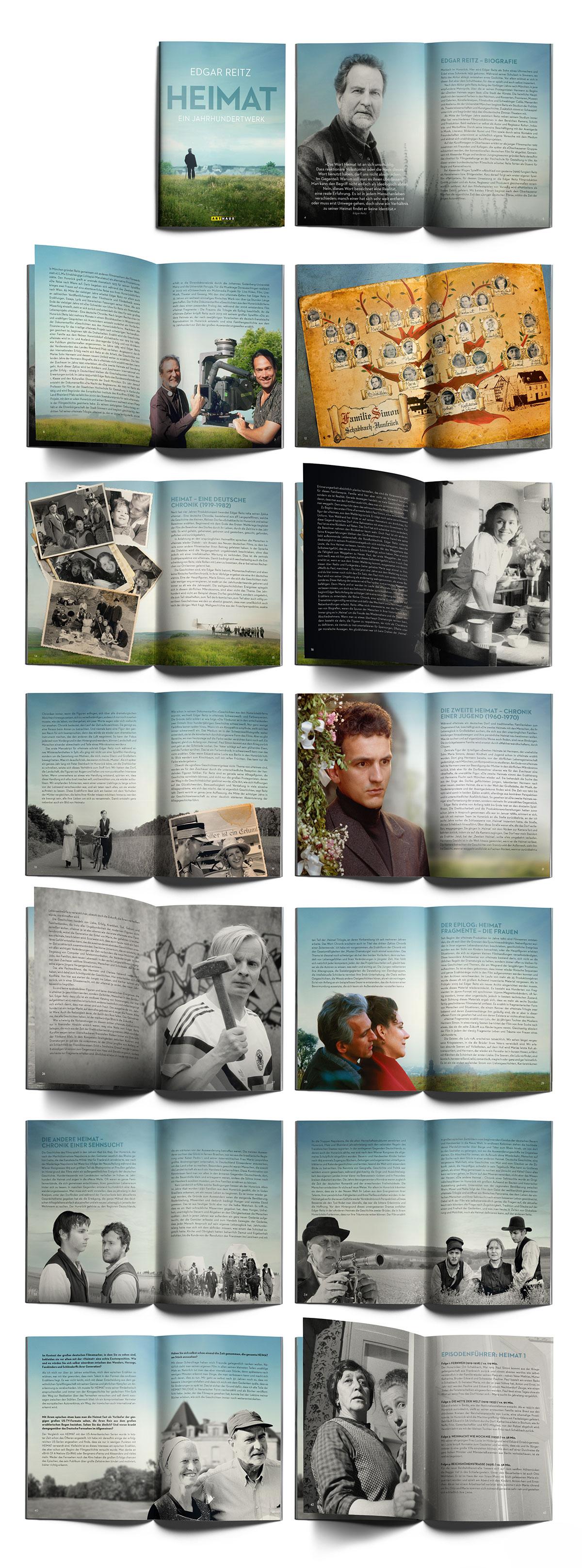 Edgar Reitz Heimat-Edition DVD Booklet Arthaus
