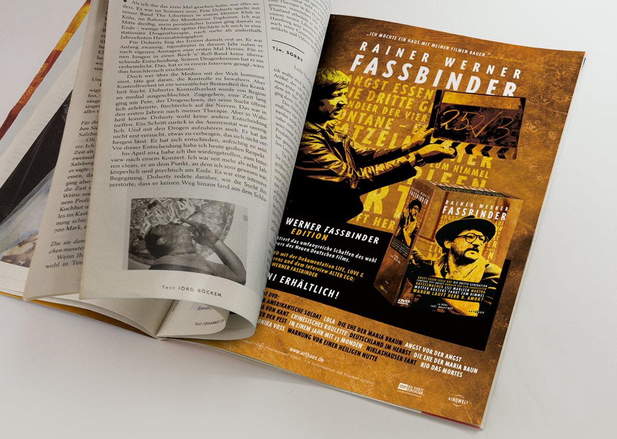 Rainer Werner Fassbinder DVD Arthaus