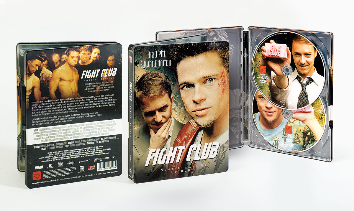 Affaire Populaire Fight Club DVD Grafik Design