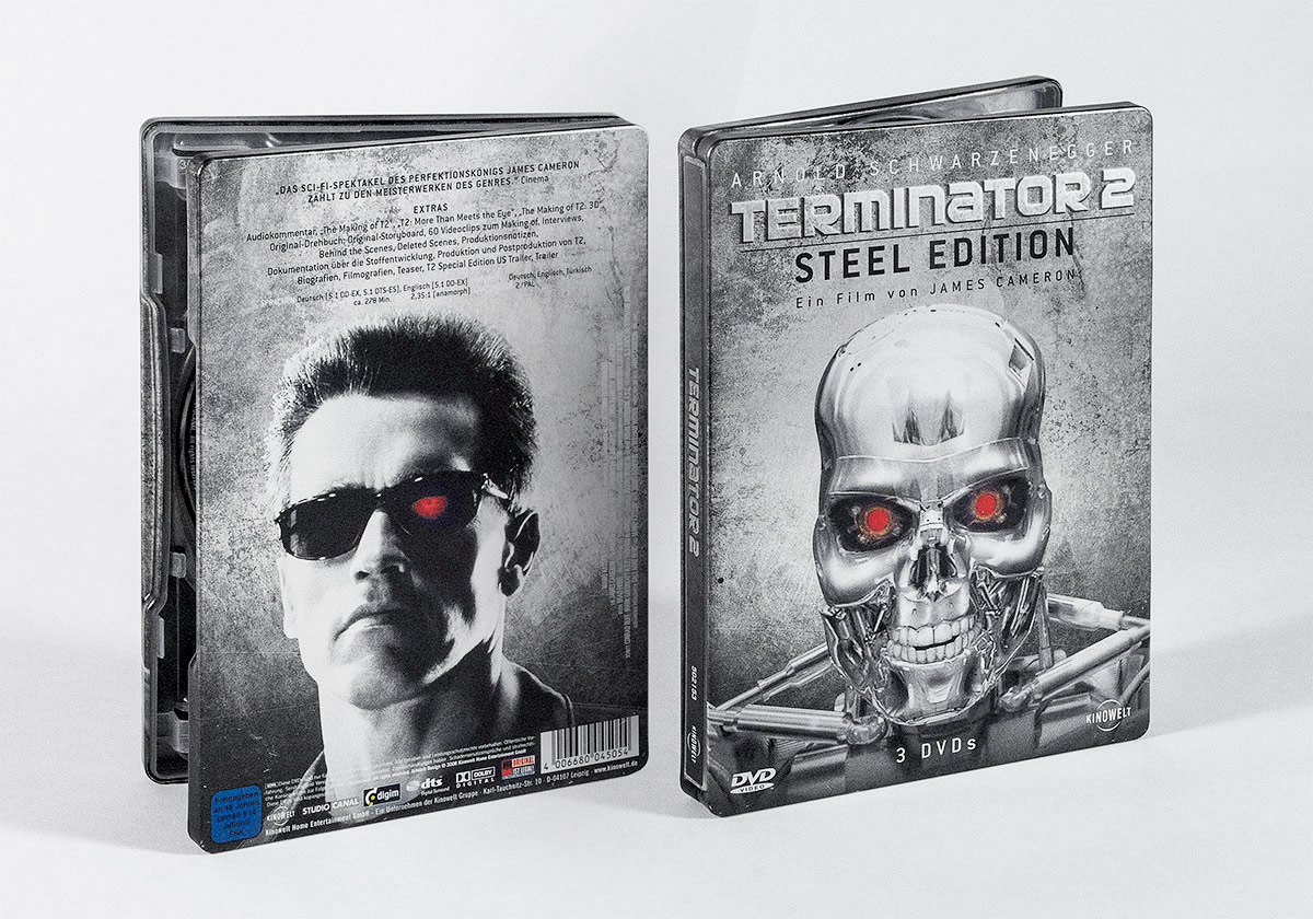 Affaire Populaire Terminator DVD Grafik Design