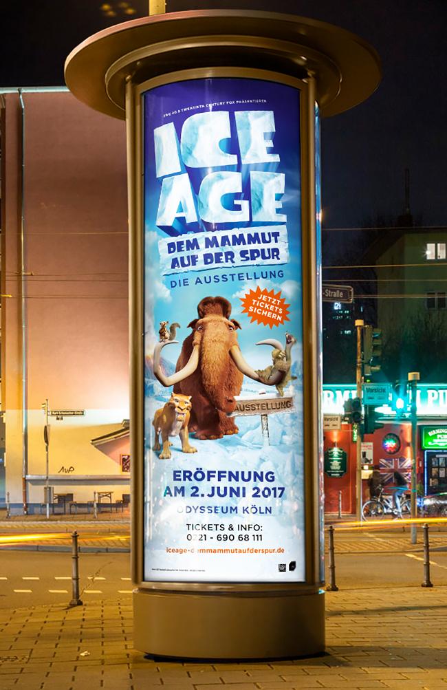 Affaire Populaire Grafik Design Berlin Plakat Ice Age Bianca Domula