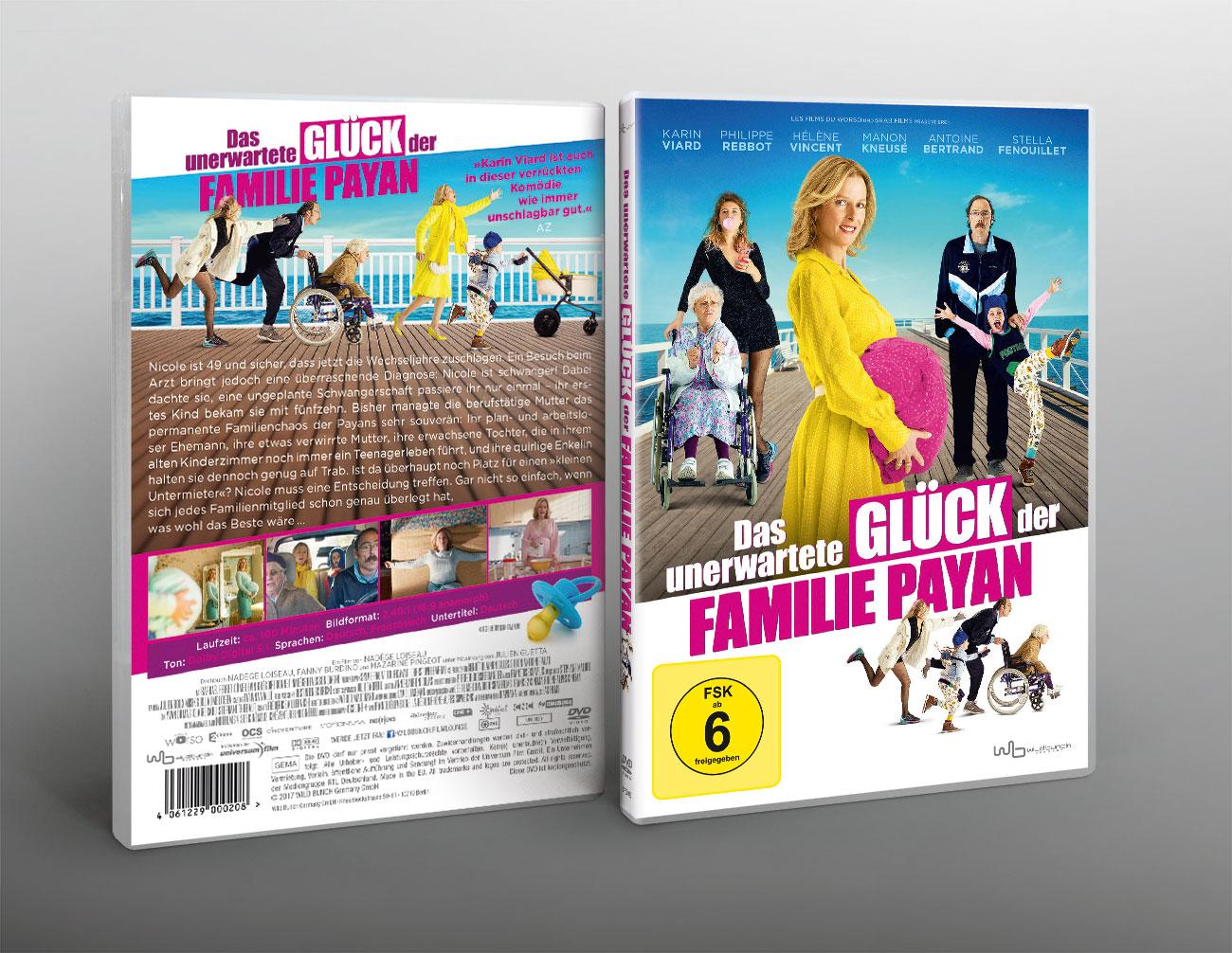 Das unerwartete Glück der Familie Payan Film Kinoplakat Wildbunch