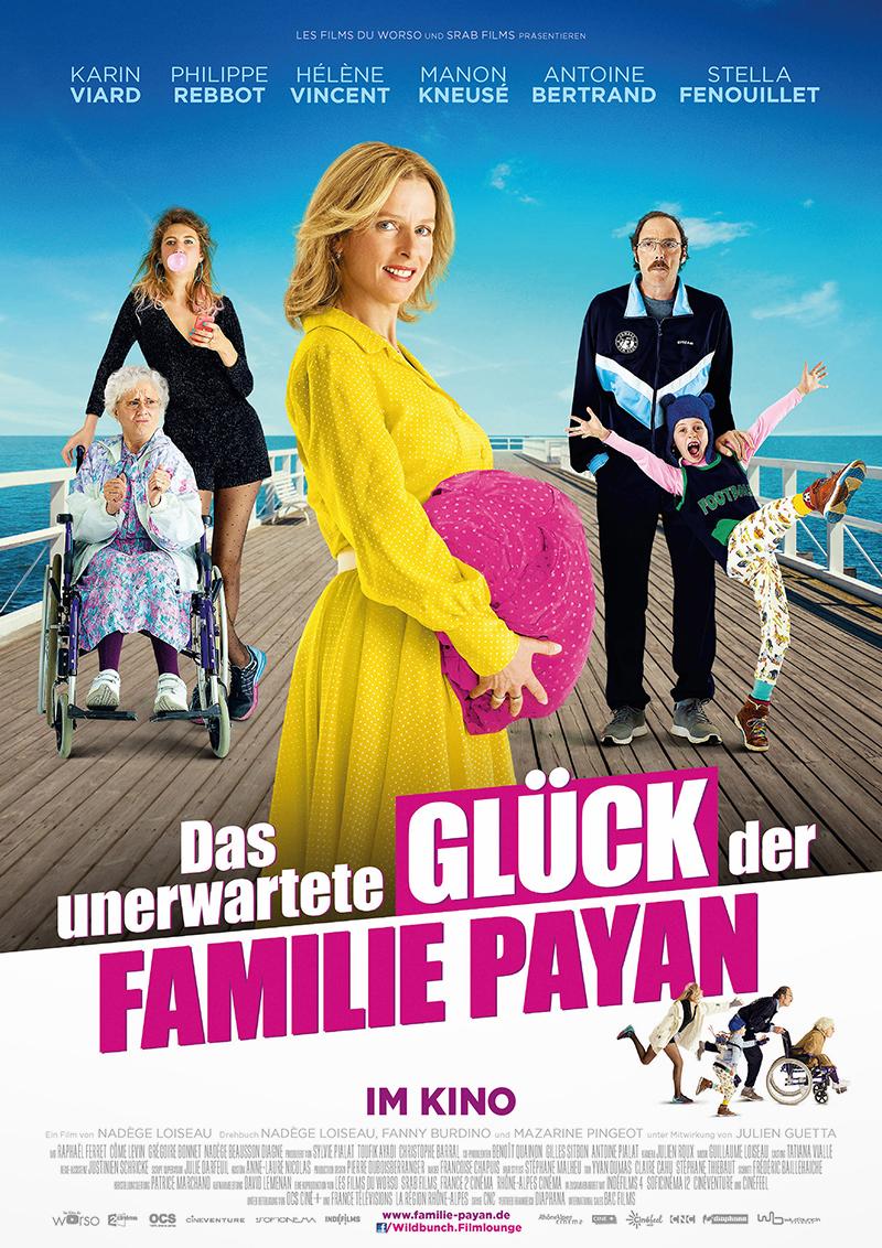 Das unerwartete Glück der Familie Payan Film Plakat Wildbunch