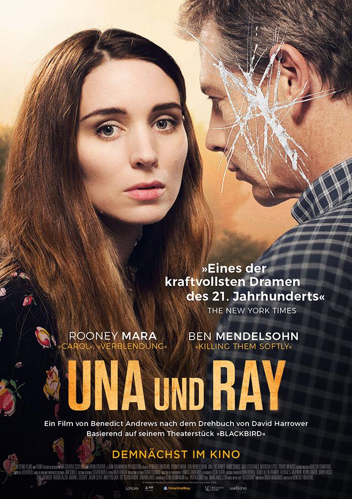 Una Und Ray KinoPlakat Affaire Populaire Weltkino Film Grafik Design Rooney Mara