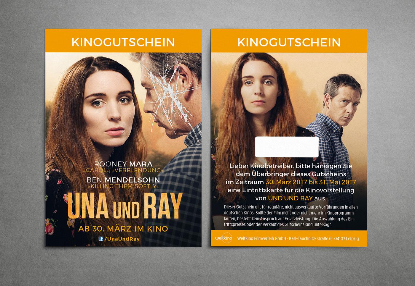 Una Und Ray Film Kinoplakat Weltkino