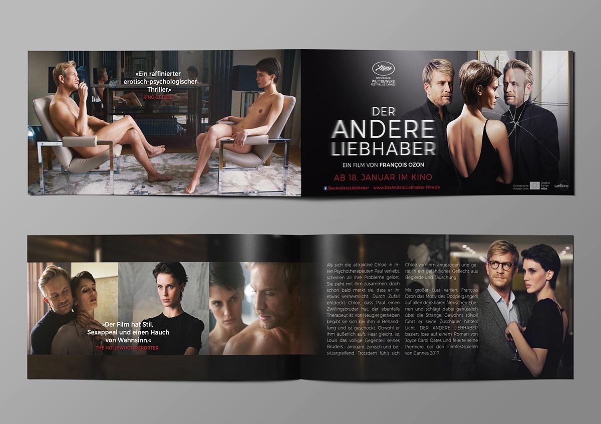 Der Andere Liebhaber Francois Ozon Weltkino Film Plakat Poster