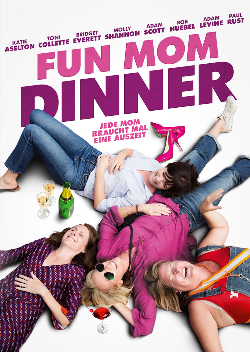 Fun Mom Dinner Affaire Populaire DVD Grafik Design Film